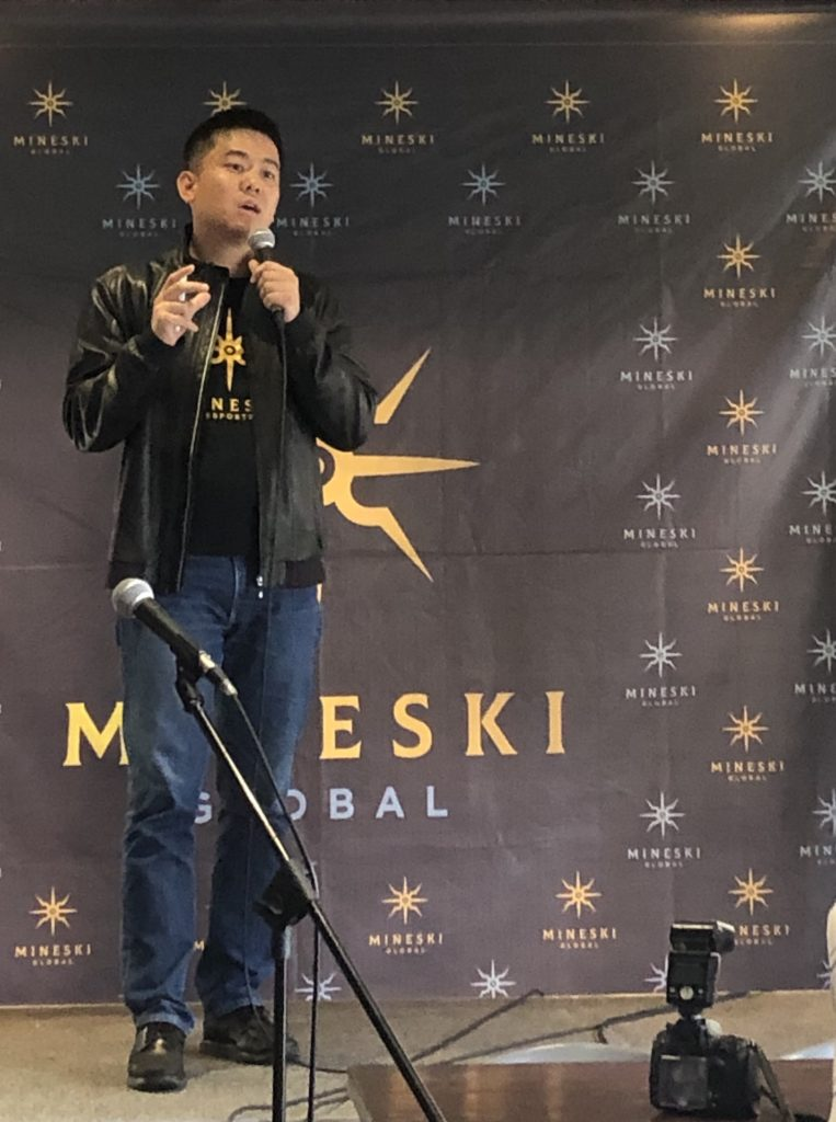 Ronald Robins, Founder and CEO of esports pioneer Mineski Global