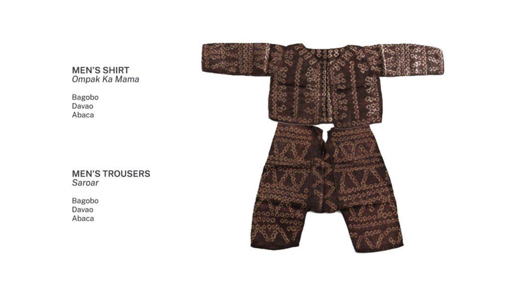 Bagobo warrior shirt. Image credit: Ayala Museum