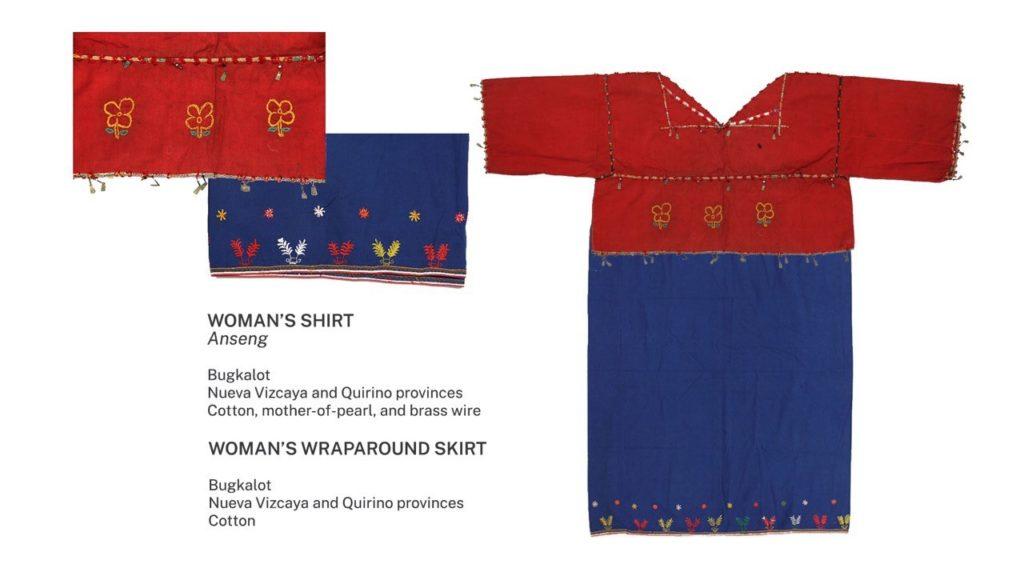 Bugkalot shirt and skirt. Image credit: Ayala Museum