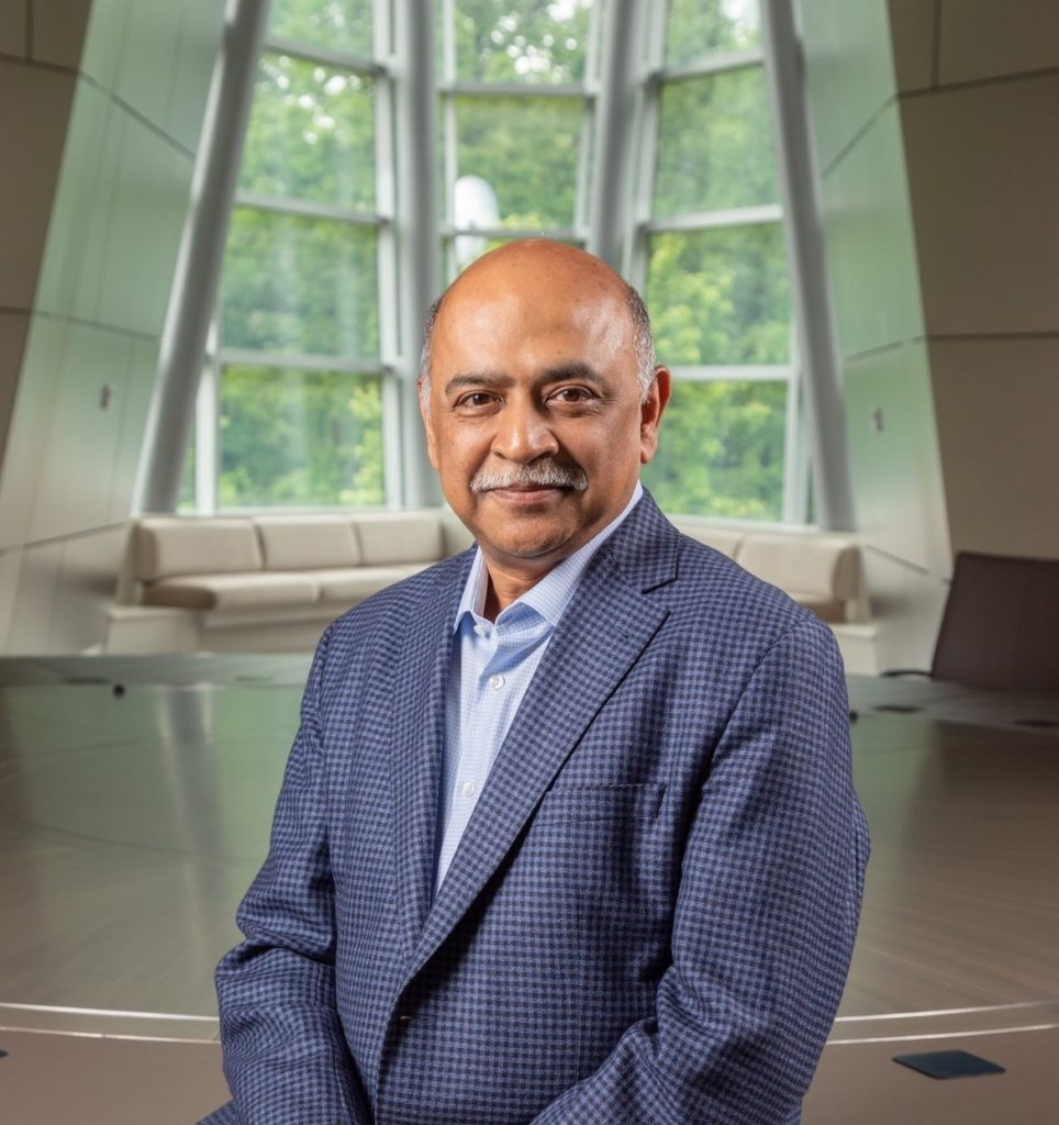 IBM CEO Arvind Krishna says this is a pivotal moment in history that will transform every company into an AI company. Image credit: John O'Boyle