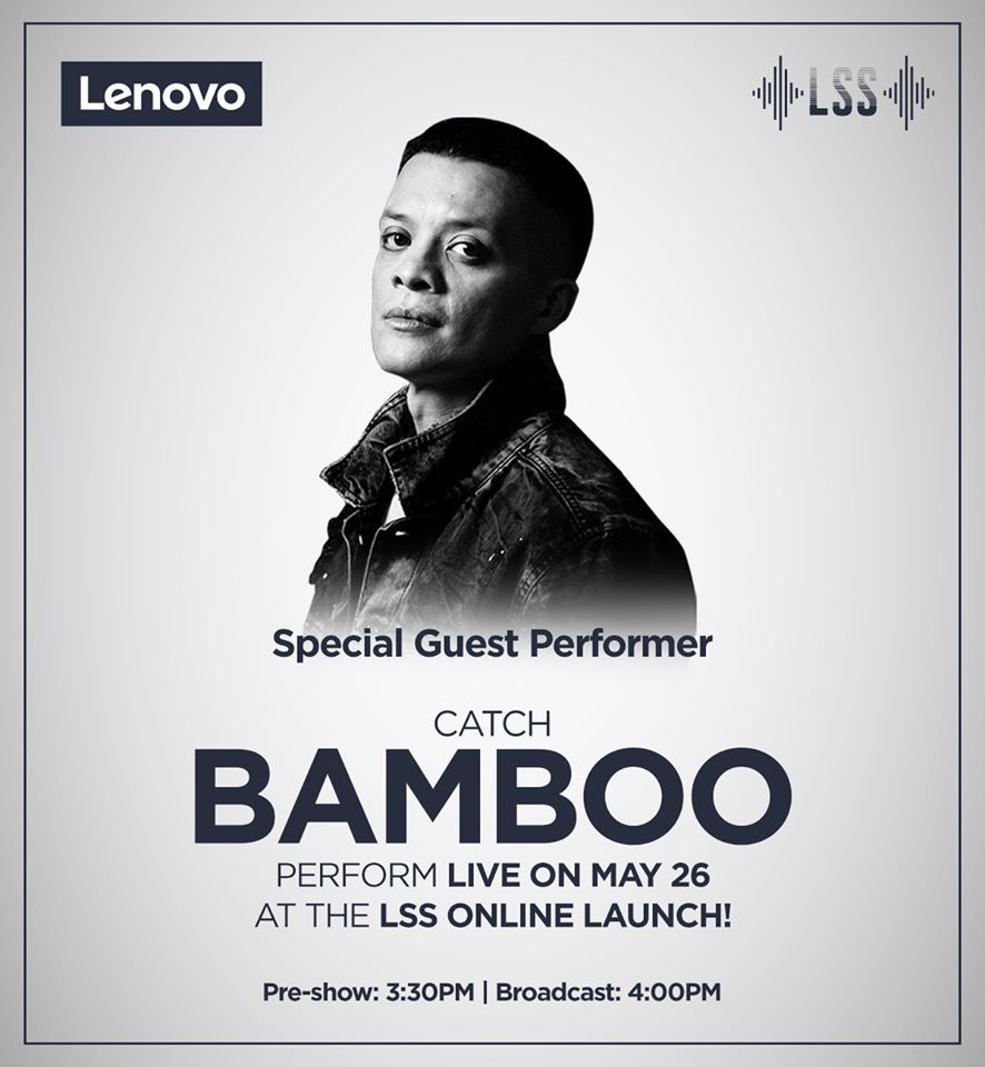 Viewers will be treated to a special performance by OPM icon Bamboo during the online launch.