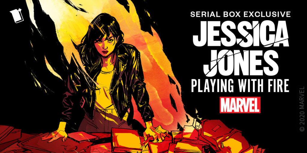 I was grinning from ear to ear after reading the latest installment of  Marvel's Jessica Jones: Playing with Fire.