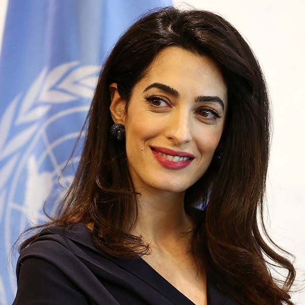 Facts are needed in the fight against the COVID-19 pandemic, and to get the truth you need press freedom, says Amal Clooney. Image credit: IBM Think Digital
