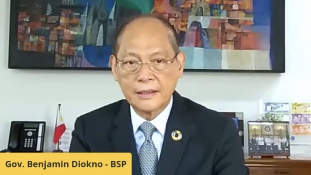 Bangko Sentral ng Pilipinas Governor Benjamin Diokno said that by 2023, at least 50 percent of the country's retail payments will already be digital.