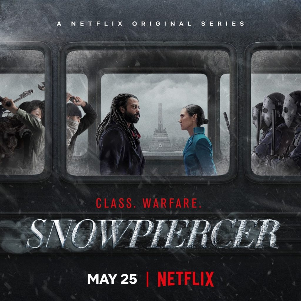 """""""Snowpiercer"""" started streaming on Netflix on May 25."""