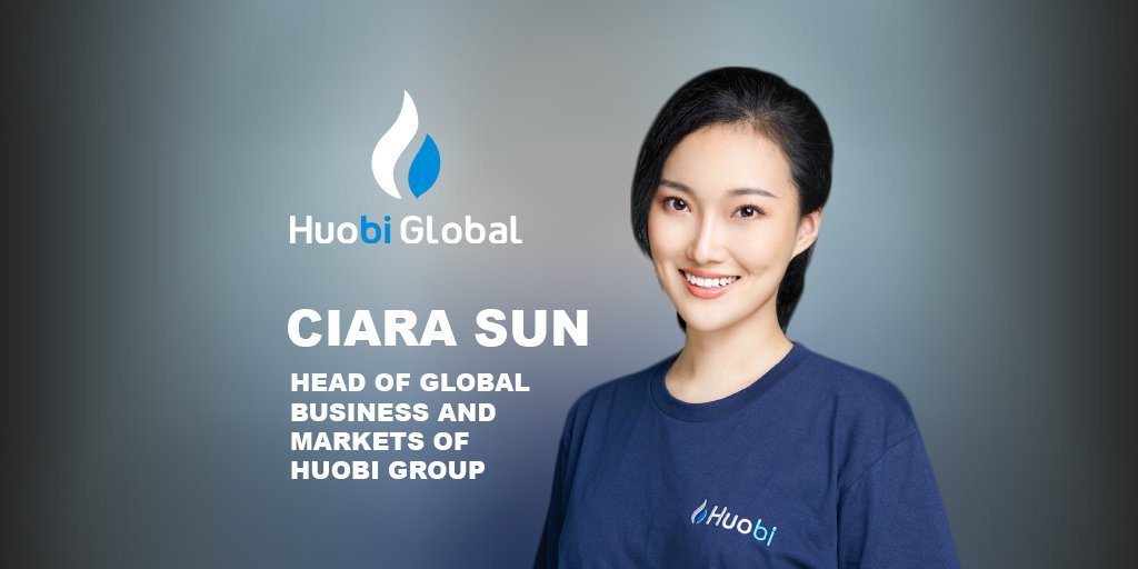 Ciara Sun, Head of Global Business and Markets of Huobi Group, says trust in blockchain is based on a trustless system.