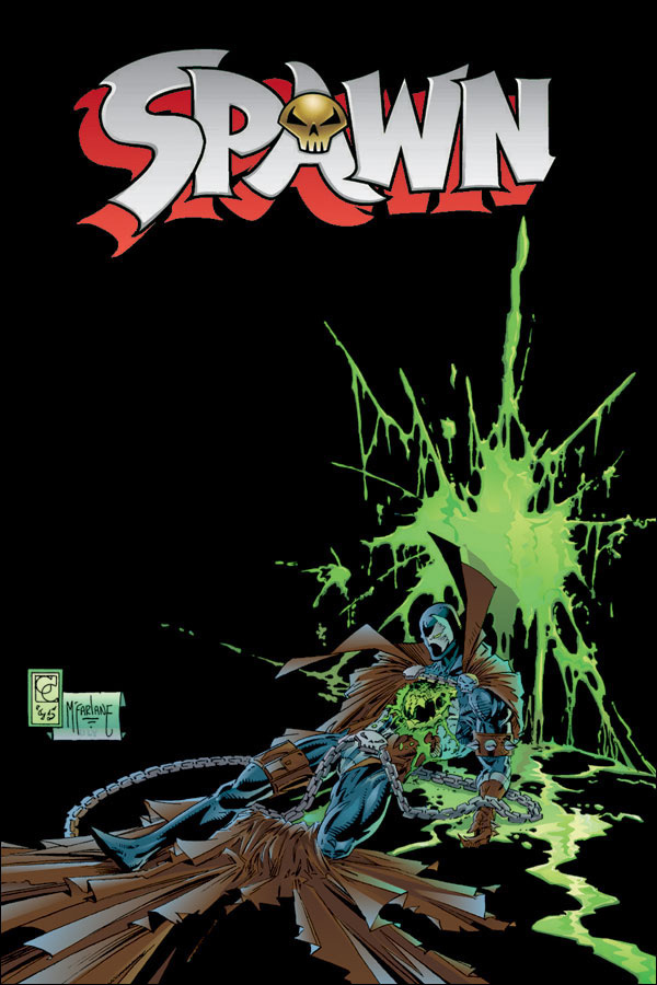 The very first comic book that comic book fan Jiggy Cruz bought for himself was Spawn #27. Image credit: Jiggy Cruz