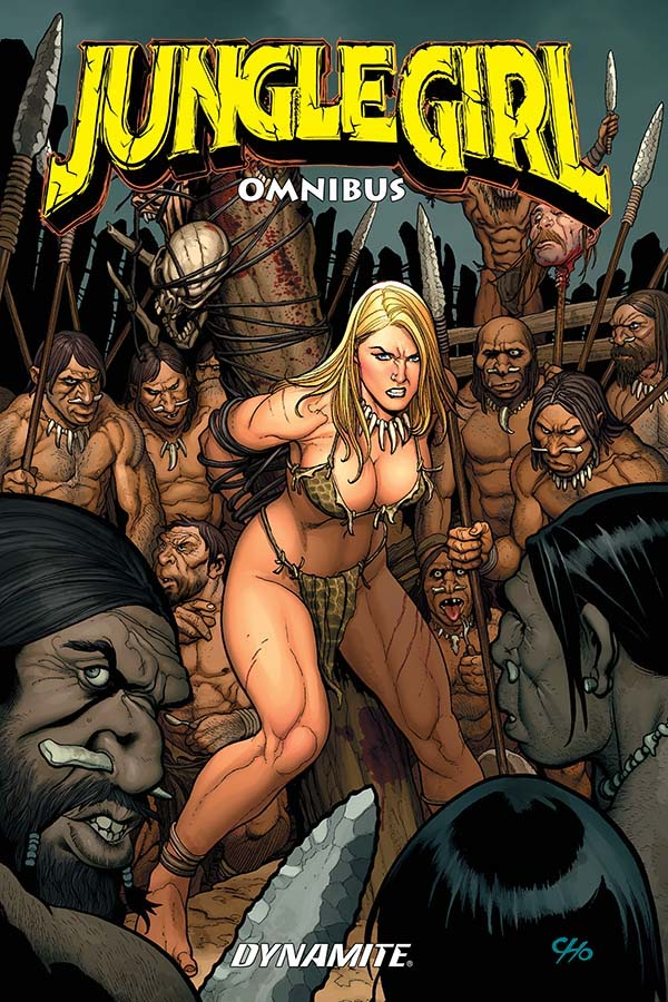 Who needs the lord of the jungle when Jungle Girl is around? Image credit: Dynamite Entertainment