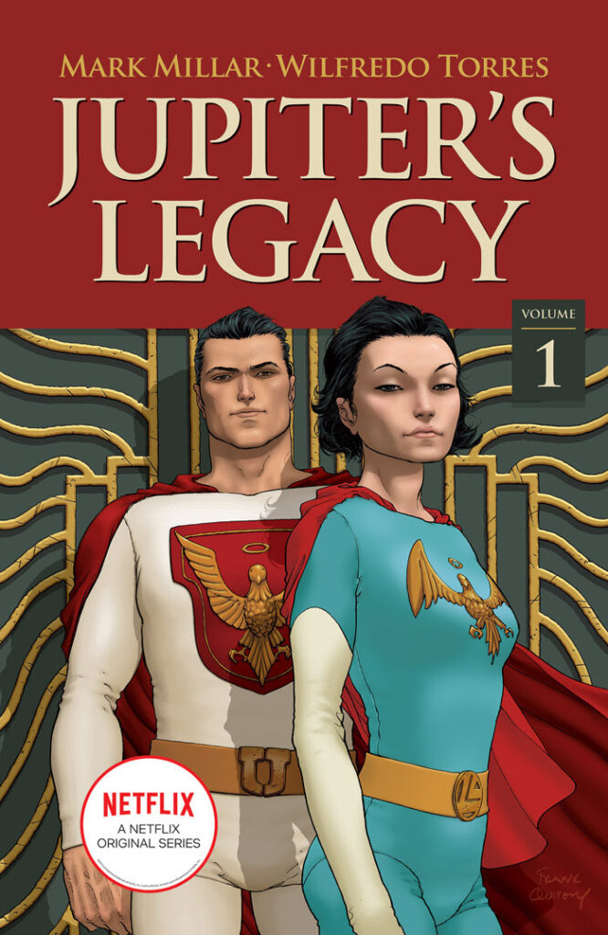 Jupiter's Legacy, one of the most critically-acclaimed superhero series of the past decade, will have its trade paperbacks sent back to print this September.