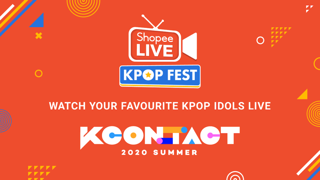 KCON:TACT 2020 Summer will stream for free on Shopee Live.