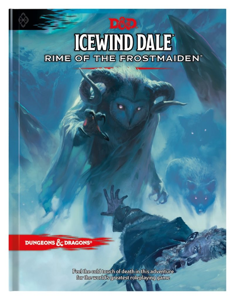 Icewind Dale: Rime of the Frostmaiden is the latest D&D storyline. Image credit: Dungeons & Dragons