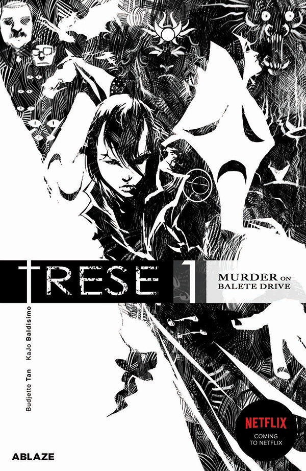 Portland-based ABLAZE has announced that it will bring the critically-acclaimed Filipino comic book series TRESE by Budjette Tan and Kajo Baldisimo to English readers worldwide. Image credit: ABLAZE