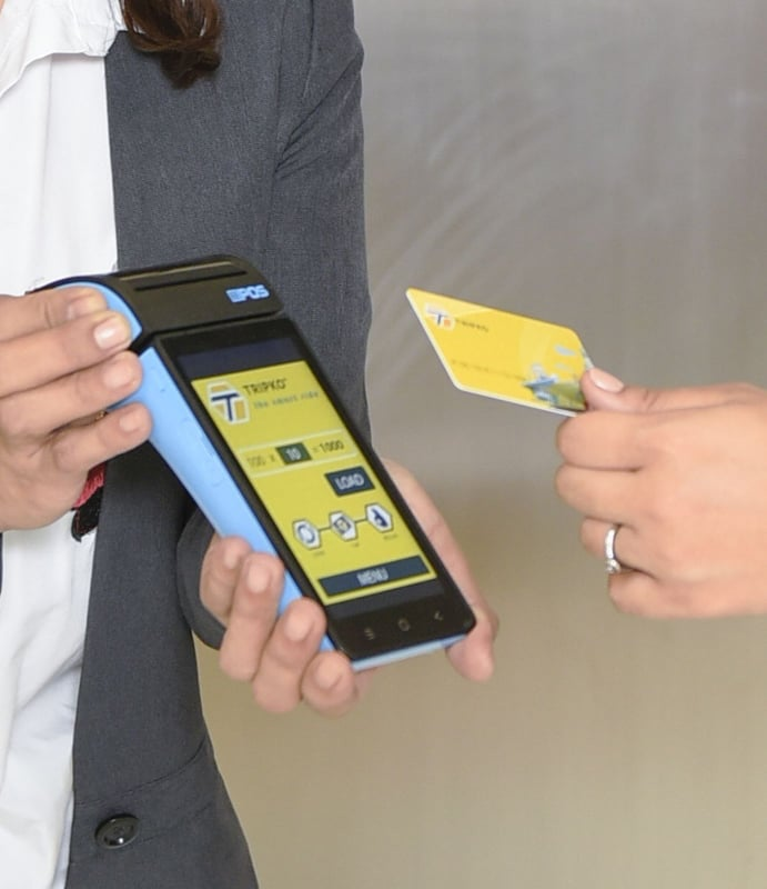 By using TRIPKO, the passenger just needs to tap the cash card on the TICKETKO  automated ticketing system without any contact with the conductor or driver.