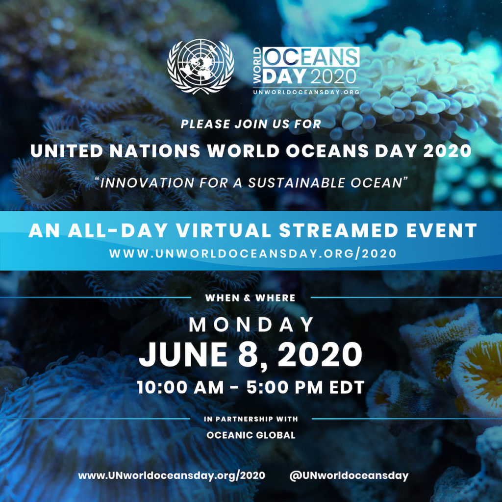 This year, the United Nations will celebrate World Oceans Day on June 8 with an all-day virtual event capped by an online concert featuring live performances from musicians around the world.