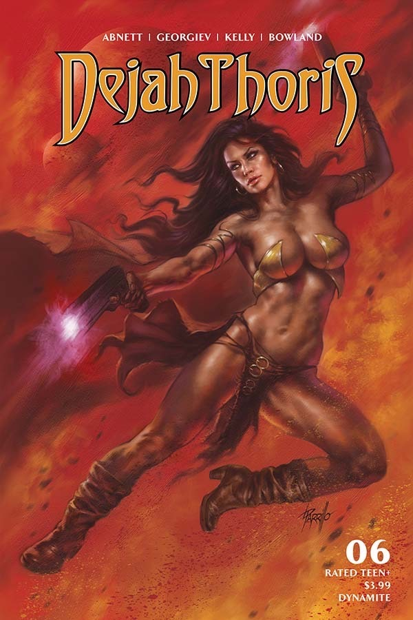 """I think our world is running down like a broken machine."" Dejah Thoris (Vol. 3) #6 starts with this quote. It seems an apt one for their world and our own."