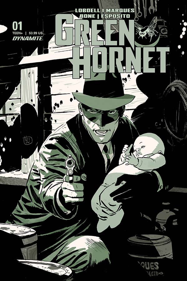 As a kid, I loved watching the Green Hornet and Kato on TV. Green Hornet #1 Cover A by Lee Weeks. Image credit: Dynamite Entertainment