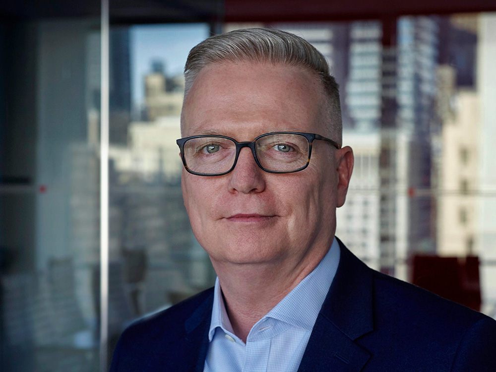 Howard Boville, Senior Vice President of IBM Cloud, says cloud is a tool that improves the productivity of critical business processes. Image credit: IBM News Room
