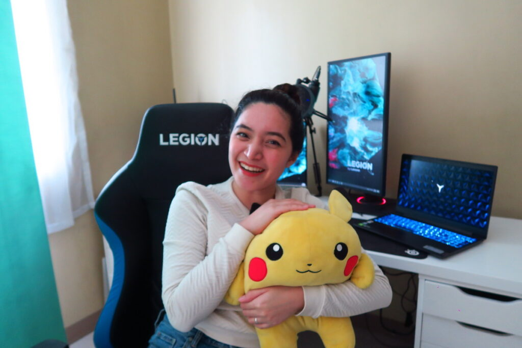 Lenovo Legion ambassador Lyka Mea loves gaming and being part of the gaming community.