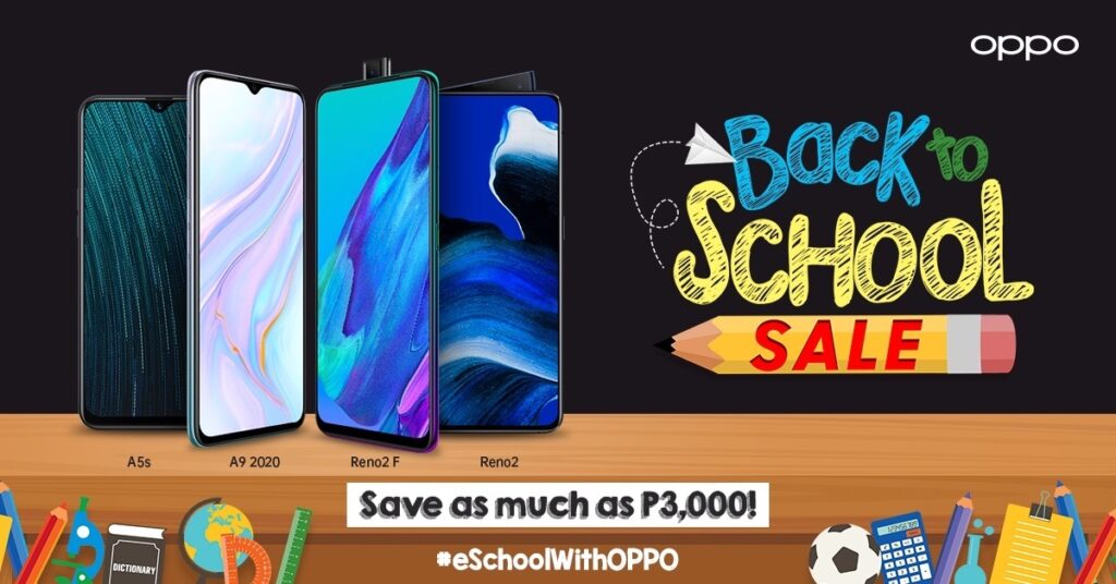 To help make gadgets more affordable to Filipino students who will use these for e-learning in the new normal, OPPO has launched the #eSchoolwithOPPO promo.