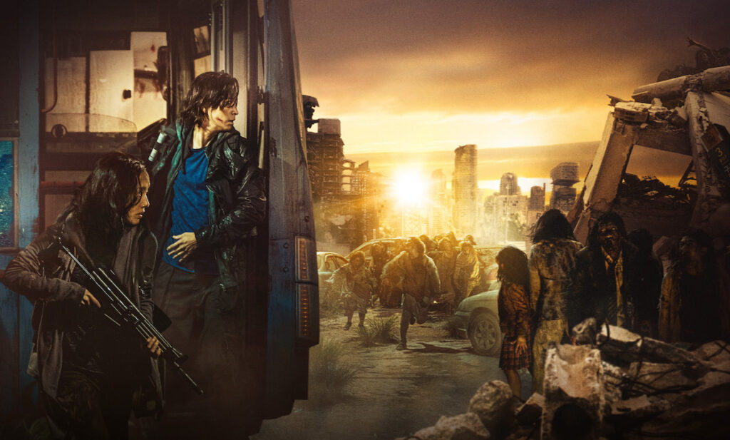 """In a remarkable feat in the COVID-19 era, the """"Train to Busan"""" sequel """"Peninsula"""" took less than four days to surpass a million moviegoers since its release in South Korea on July 15. Image credit: Well Go USA Entertainment"""