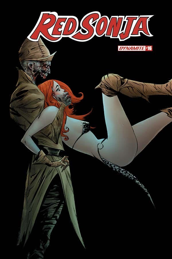 She is Sonja the Red, the Master of War. But is anyone really its master? Or, as Red Sonja (Vol. 5) #16 seems to tell us, is the truth that no one really wins in a war?