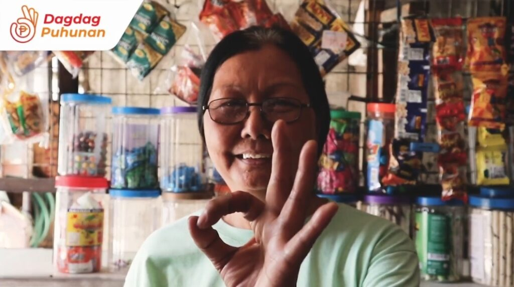 Sari-sari store owner Amy Garcia is thankful that TrueMoney is giving her convenient access to essential food and non-food products.