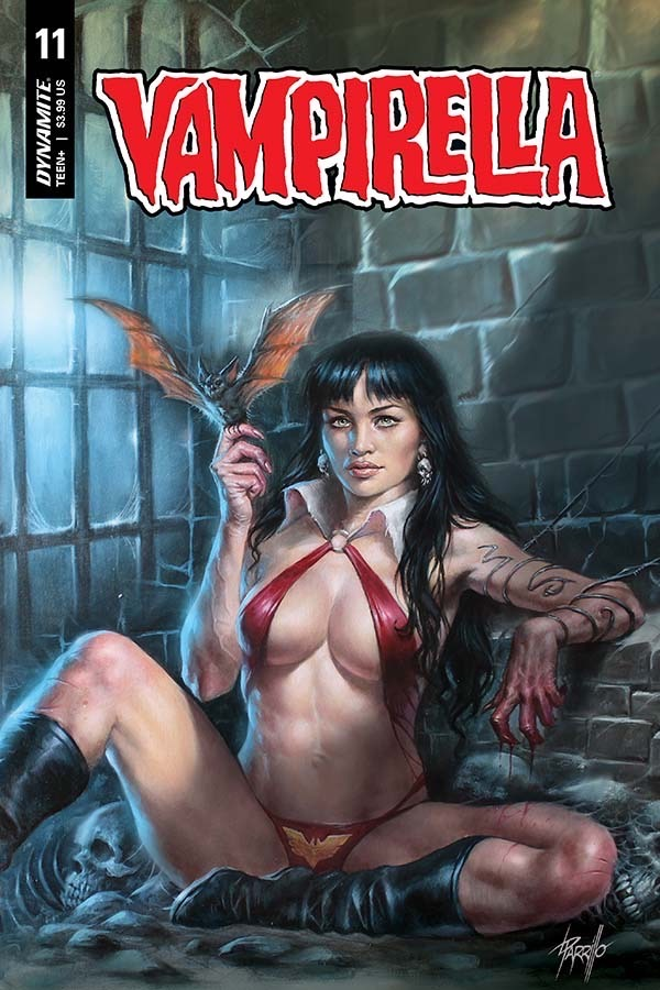 Vampirella (Vol. 5) #11 Cover A by Lucio Parrillo. Image credit: Dynamite Entertainment