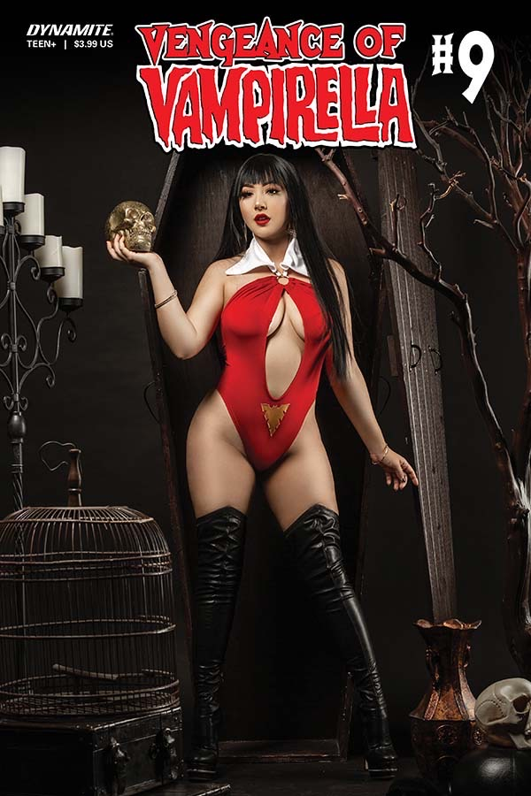 Vengeance of Vampirella 9 Cover D: Marissa Ramirez Cosplay Variant. Image credit: Dynamite Entertainment