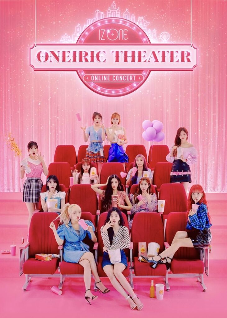 "IZ*ONE, the 12-member South Korean-Japanese girl group, will hold an online concert called ""Oneiric Theater"" on Sept. 13."