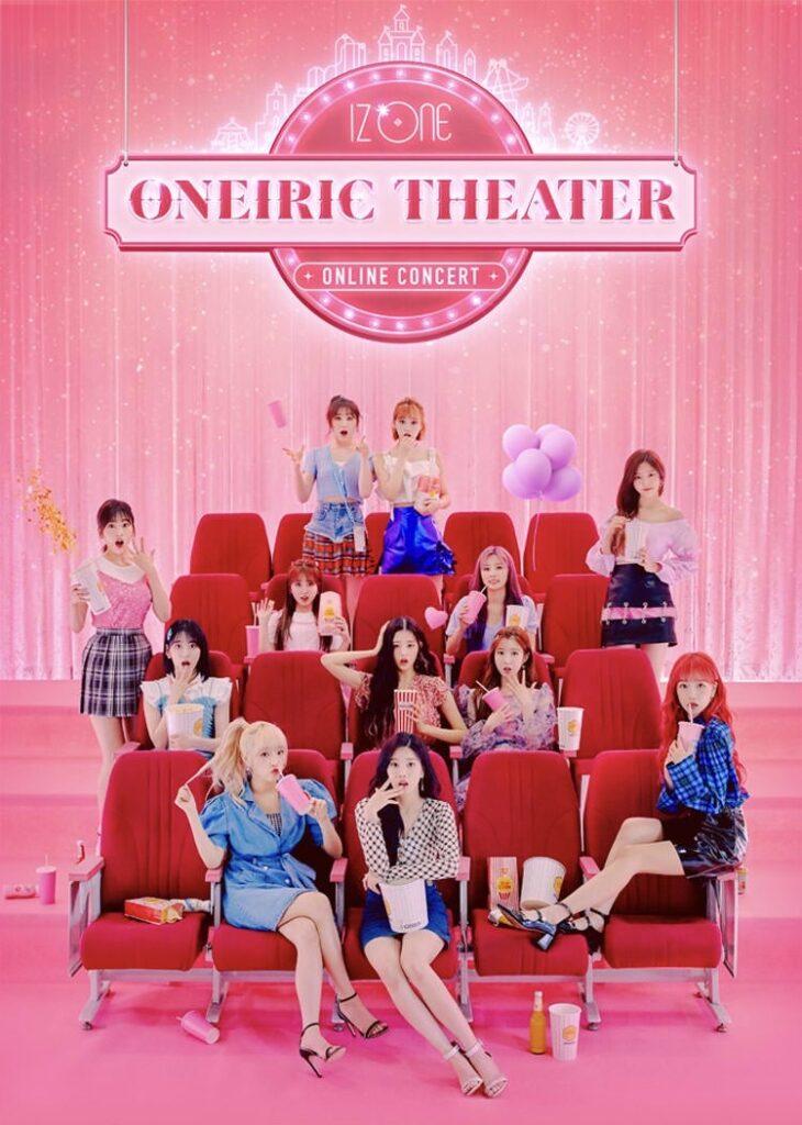 "IZ*ONE, the 12-member South Korean-Japanese girl group, will hold an online concert called ""Oneiric Theater"" on Sept. 13."