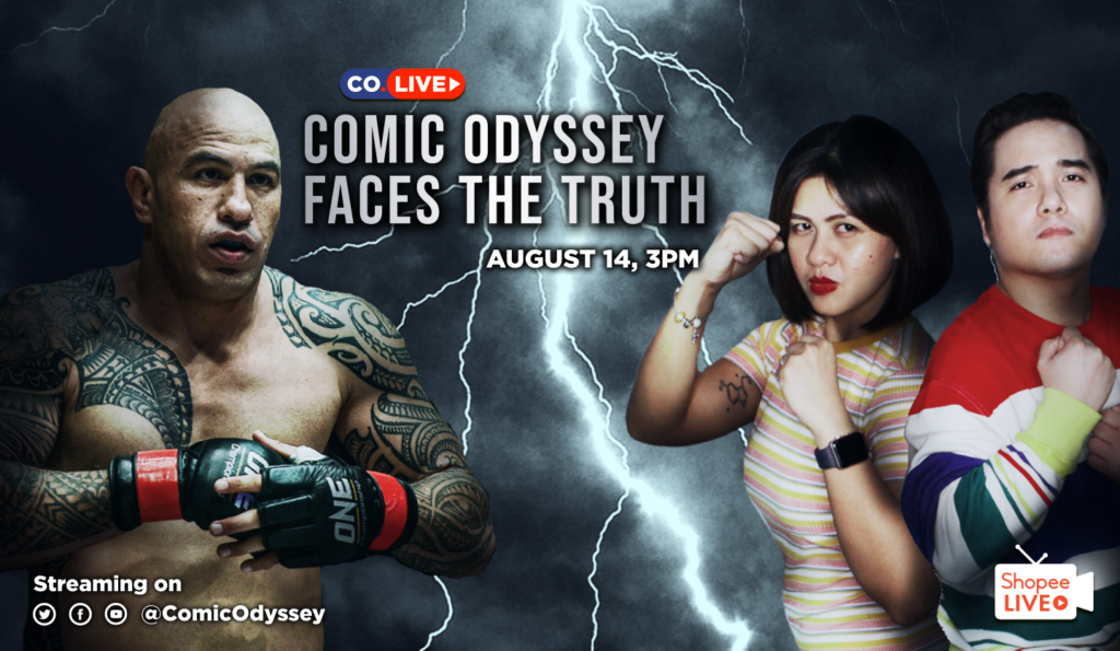 "ONE Heavyweight Champion Brandon ""The Truth"" Vera will talk about his love for Funko Pops on Comic Odyssey LIVE."