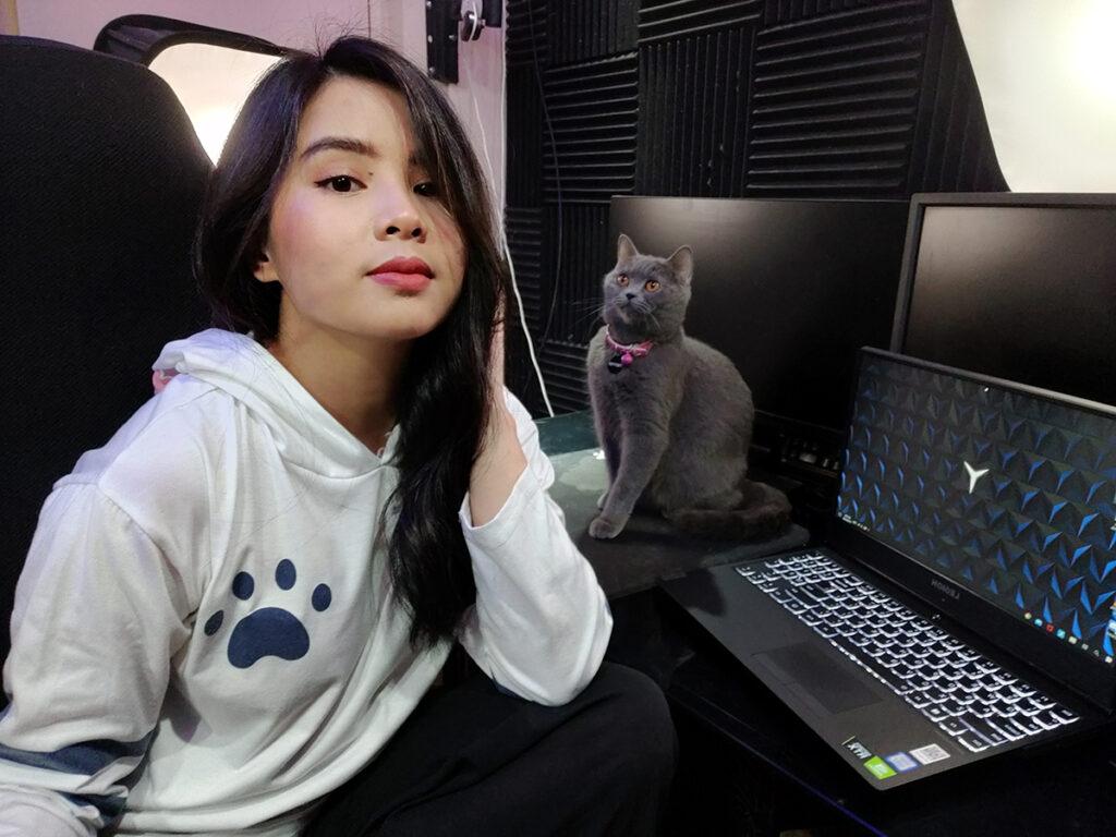 Lenovo Legion ambassador Diviny Aldover says her goal as a streamer is to inspire someone, somewhere.