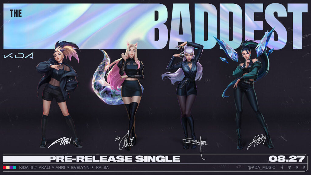 Even the virtual pop group K/DA,  which features the voices of SOYEON and MIYEON of K-pop girl group (G)I-DLE, is making a comeback.