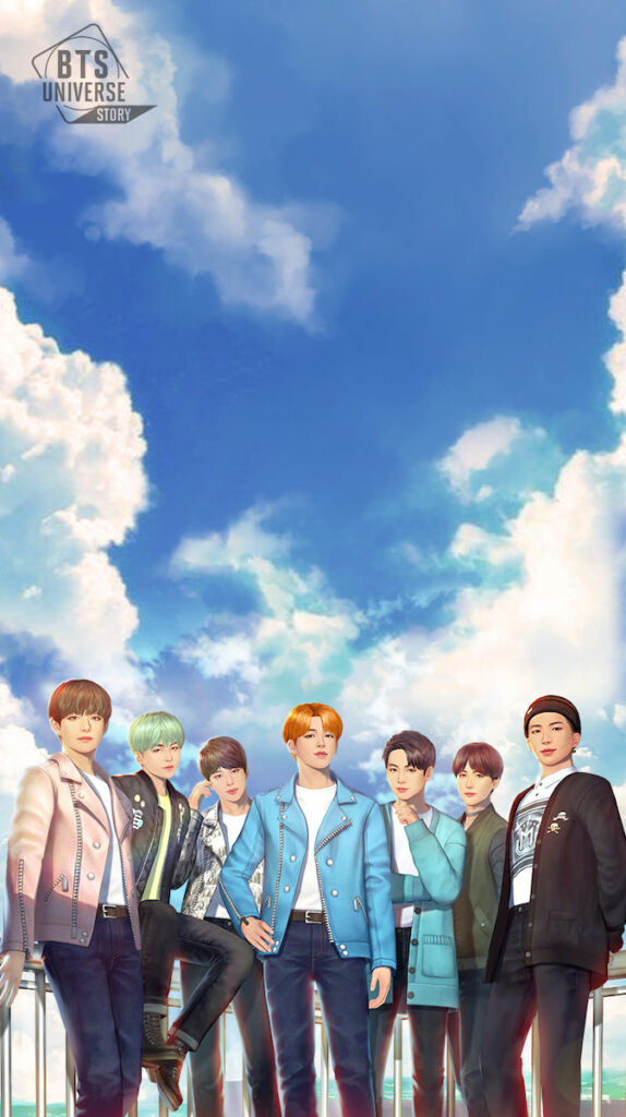ARMY can now determine the fate of their favorite K-pop idols with the launch of the BTS Universe Story mobile game developed by South Korea's biggest mobile gaming company, Netmarble Corp. Image credit: Netmarble Corp.