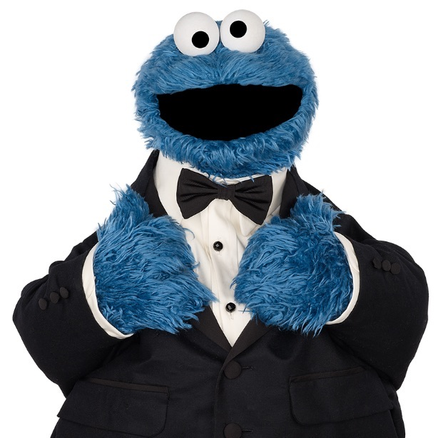 You know that All That Matters is a special event when the world-famous muppet Cookie Monster is one of the keynote speakers. Image credit: Branded