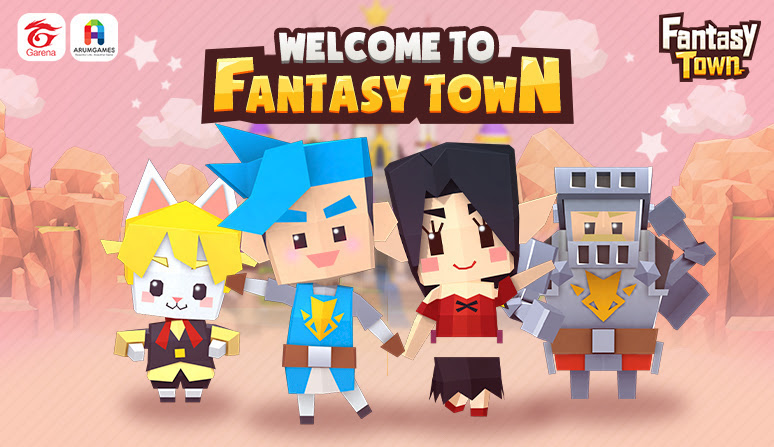 Build your dream town with Fantasy Town, a casual farming simulator mobile game from Singapore-based Garena, in conjunction with Arumgames.