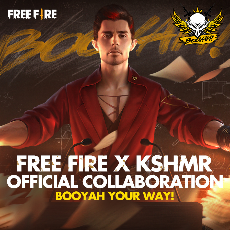 Garena ​has announced that music producer and DJ Niles Hollowell-Dhar -- better known by his stage name ​KSHMR ​-- is ​Free Fire's new brand ambassador.​