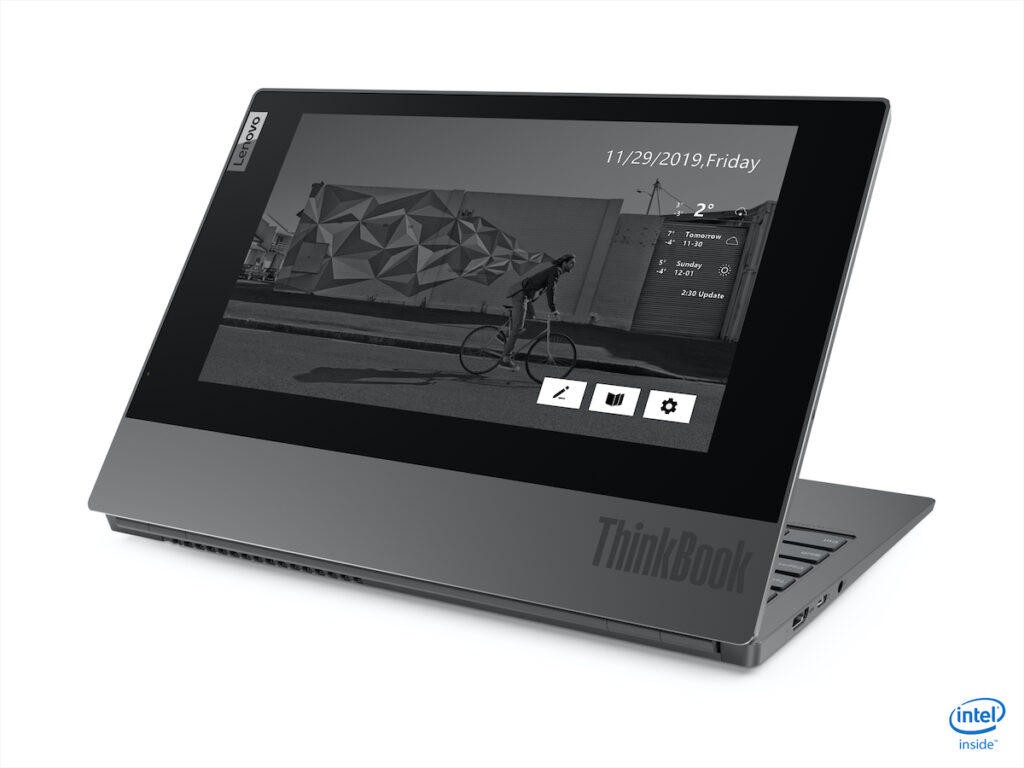 Lenovo has unveiled the ThinkBook Plus, a dual-screen laptop designed for the needs of millennials and Gen Z employees, who love multitasking.