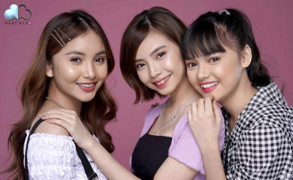 "Baby Blue, the first MNL48 sub-unit formed by Hallohallo Entertainment in partnership with Tower Records Japan, has released the music video of their debut single ""Sweet Talking Sugar"".  Image credit: Hallohallo Entertainment"