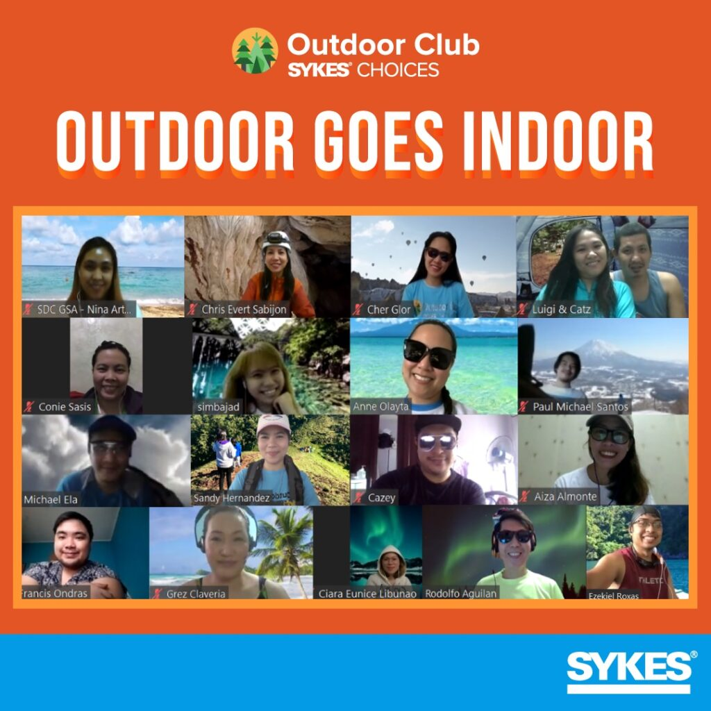 Interest clubs: SYKES has turned their planned activities into virtual events.