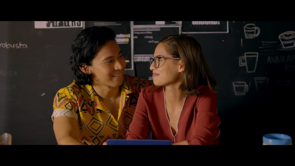 """""""Alter Me"""" stars Jasmine Curtis-Smith and Enchong Dee. Image credit: Netflix"""