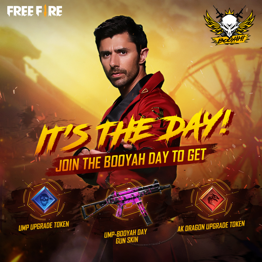 "While getting ready for Booyah Day, Free Fire players can check out the music video for the collaboration song with KSHMR, ""One More Round""."