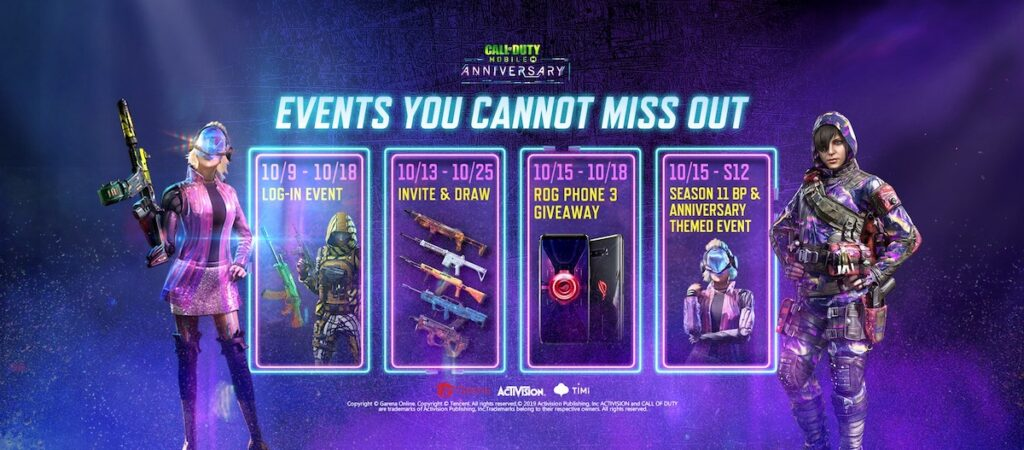 Call of Duty: Mobile - Garena's Anniversary Battle Pass update rolls out today,