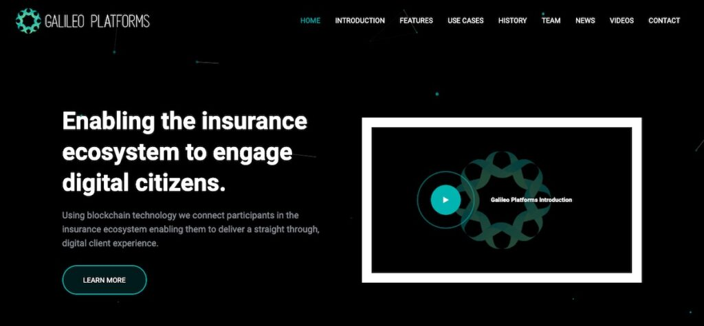 Galileo Platforms has become the first company to have its advanced blockchain platform used by an insurer as its core policy administration system with Singlife's launch in the Philippines.