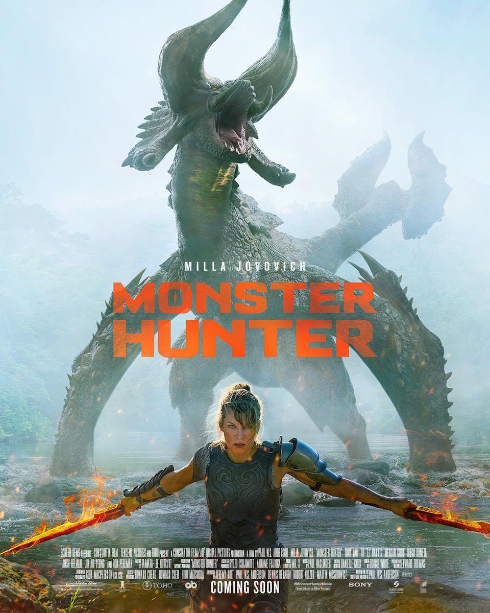 Resultado de imagem para monster hunter poster 2020