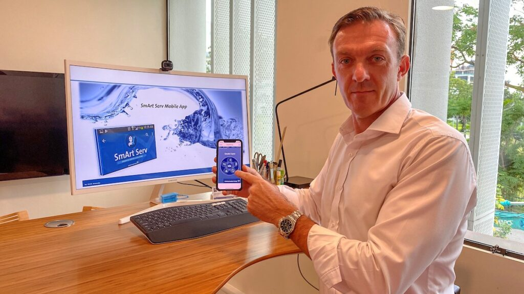 Nicolai Thrane, Regional Service Director of Grundfos Asia Pacific Region, said the SmArt Serv app will deliver a better customer experience.