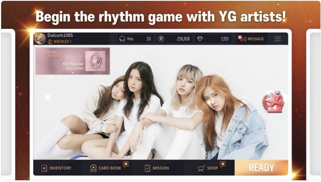 BLACKPINK fans can start pre-registering for the rhythm game SuperStar YG, which will be available on the App Store and Google Play.