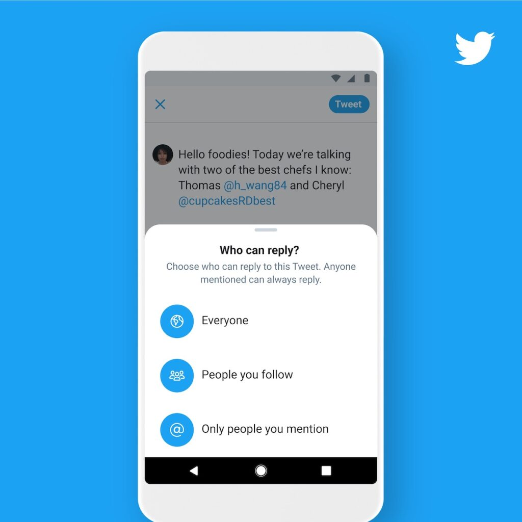 Twitter makes it easy for fans to connect with their favorite artists and fellow fandom members.