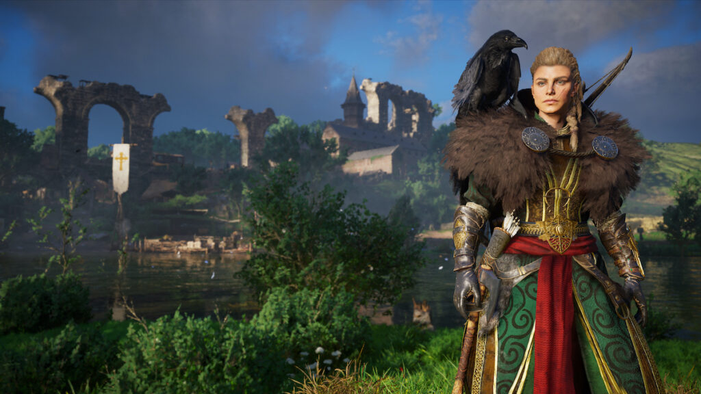 Assassin's Creed Valhalla lets you play Eivor as a female Viking warrior. Image credit: Ubisoft