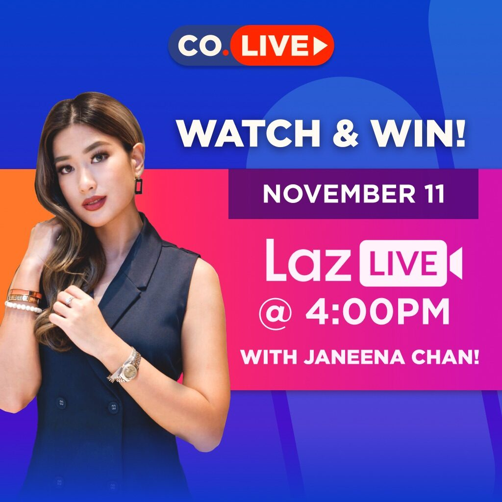 Janeena Chan will host a LazLive segment to promote the Comic Odyssey 11.11 sale. Image credit: Comic Odyssey